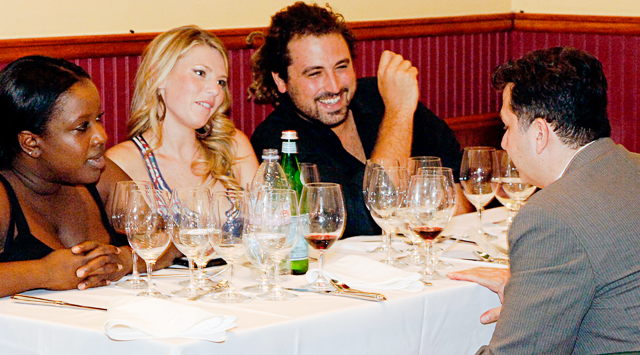 Tuesday, April 12: Gourmet Vintner Dinner